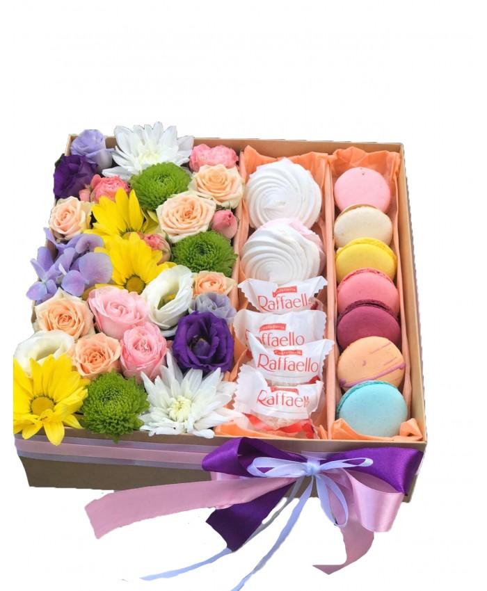 """Цветы и сладости """"Летний бриз"""""""