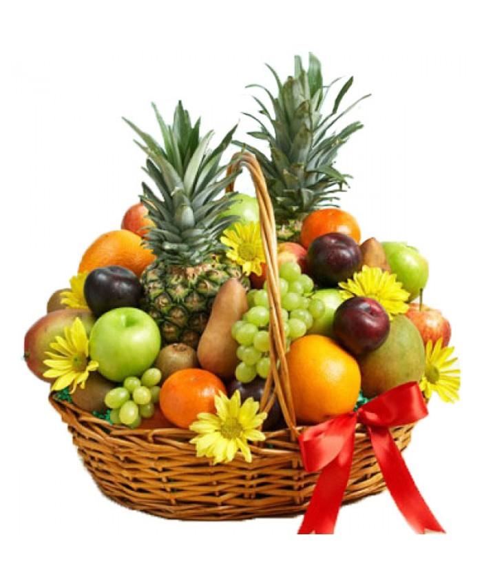 """Корзина с фруктами """"Фруктовый рай"""""""