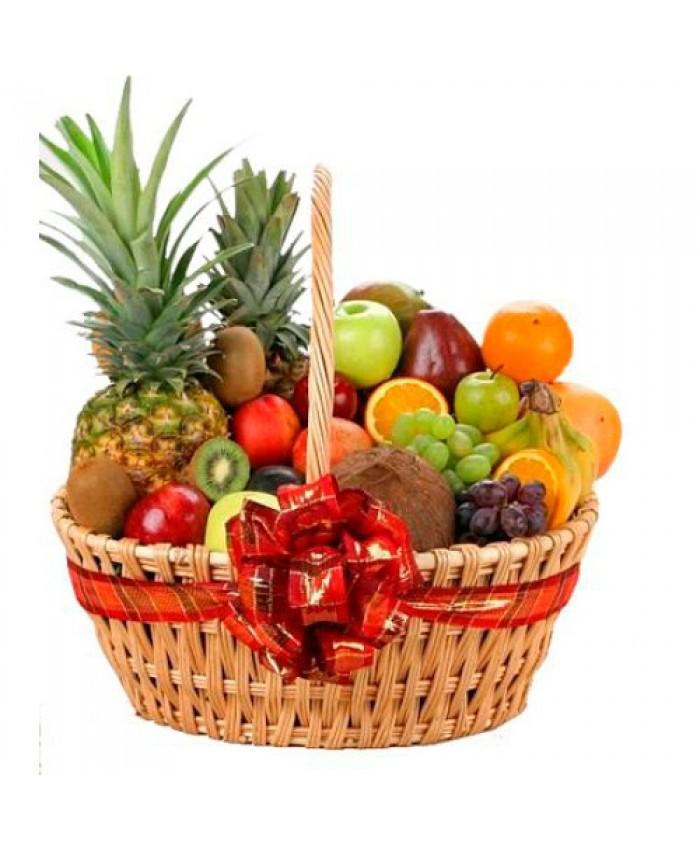"""Корзина с фруктами """"Приятного аппетита!"""""""