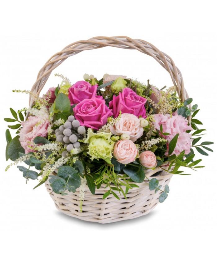 """Корзина с цветами """"Море радости"""""""