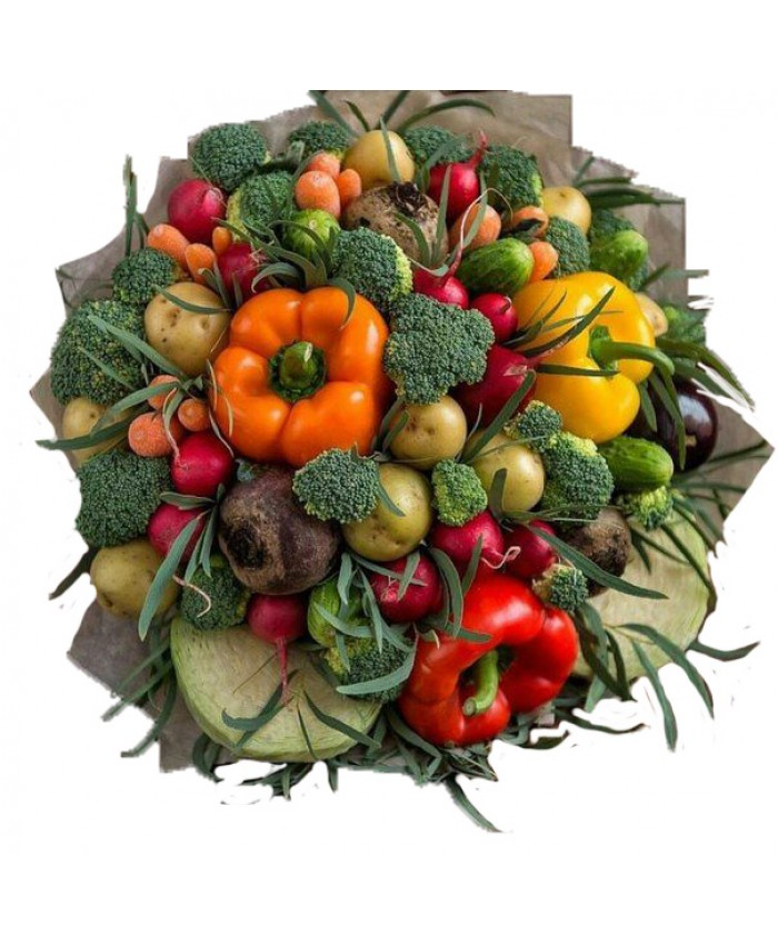 """Букет из овощей  """"Богатый урожай"""""""