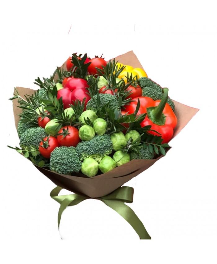 """Букет из овощей  """"Полезный подарок"""""""