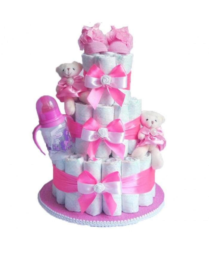 Торт из памперсов №2