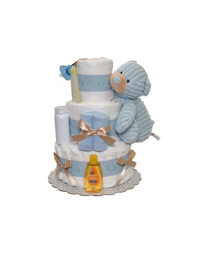 Торт из памперсов №4